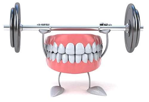 Starke Zähne